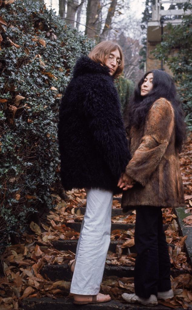 ESC: Stylish Couples, John Lennon, Yoko Ono