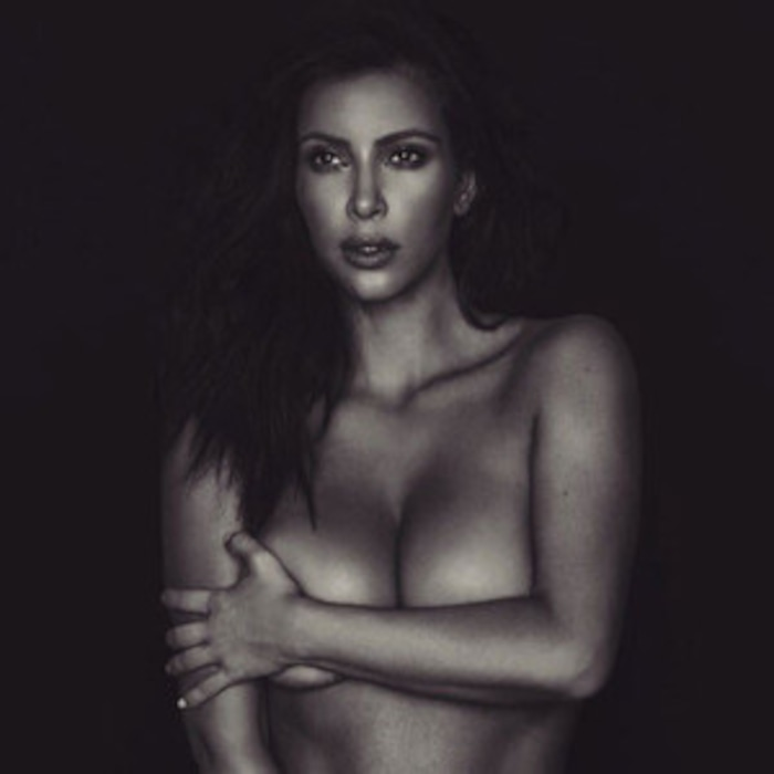 Kim Kardashian Fires Back At Chloe Grace Moretz Bette Midler And Piers Morgan For Dissing Her Nude Selfie E News