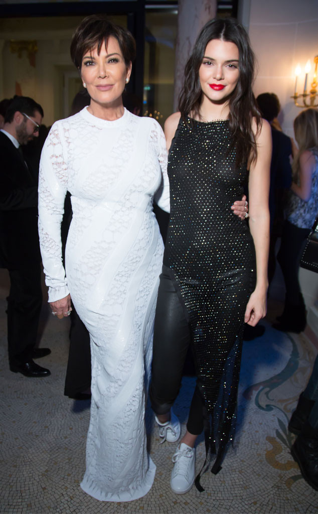 ESC: Kris Jenner, Best Looks, Kendall Jenner