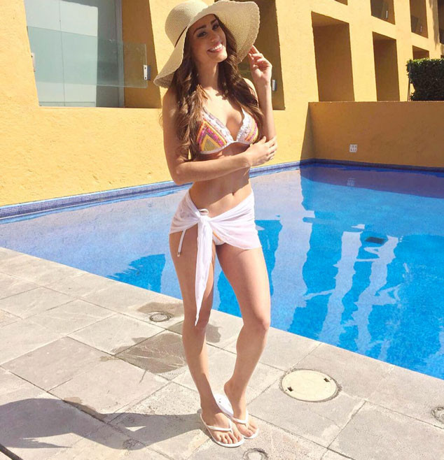yanet garc u00eda  the hottest weather girl on the planet