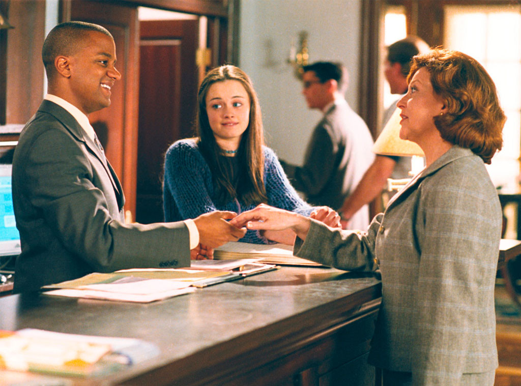 Yanic Truesdale, Alexis Biedel, Kelly Bishop, Gilmore Girls