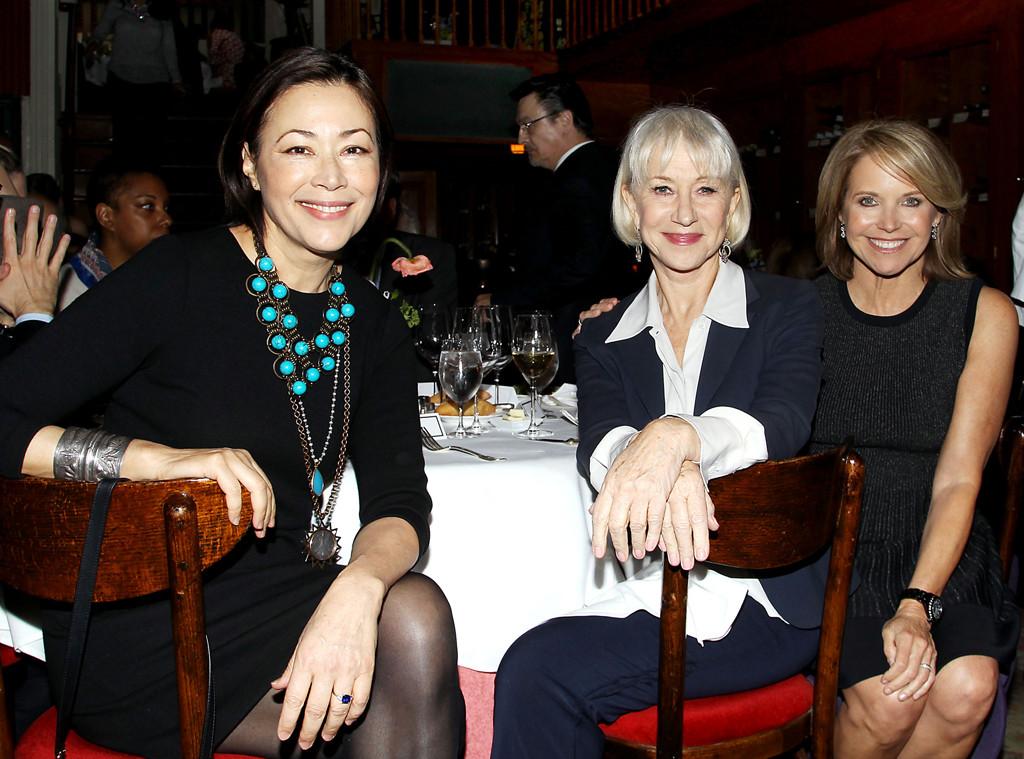 Ann Curry, Helen Mirren, Katie Couric