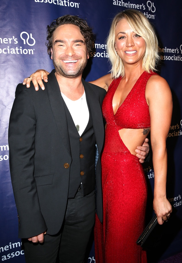 Johnny Galecki, Kaley Cuoco