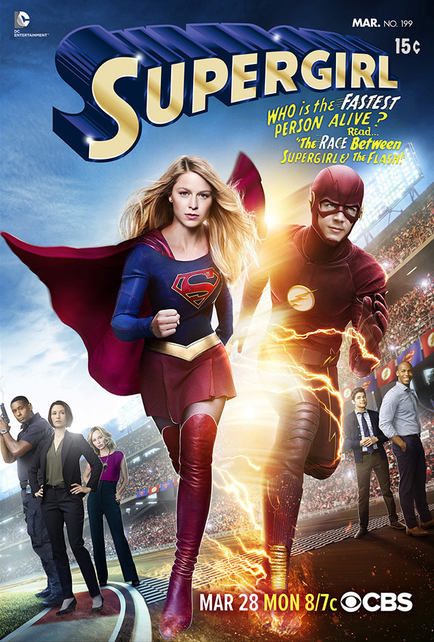 Supergirl, The Flash