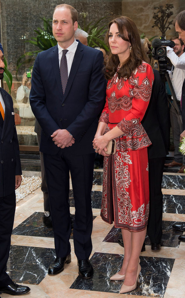 Catherine, Duchess of Cambridge, Prince William, Duke of Cambridge, India