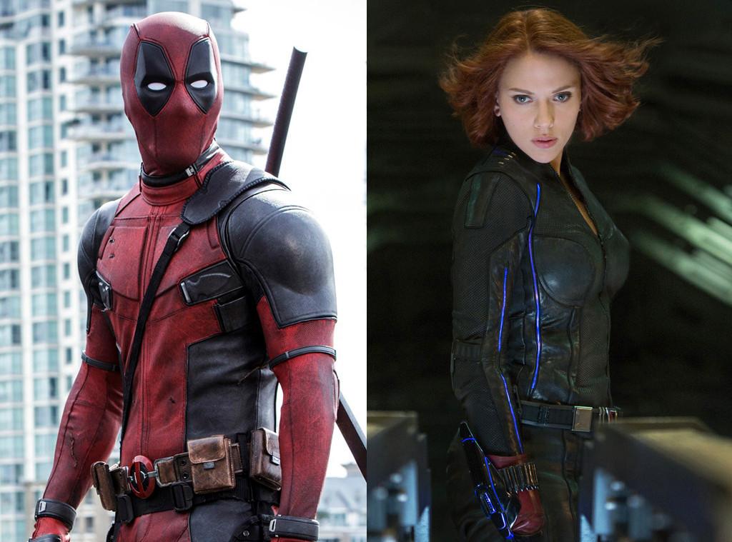 Deadpool, Ryan Reynolds, Scarlett Johansson, Black Widow