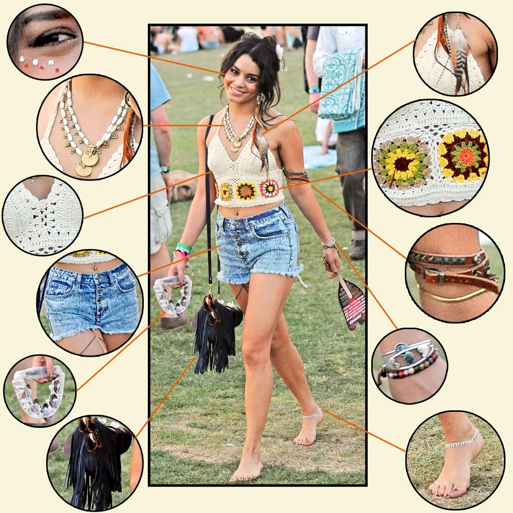 Vanessa Hudgens, Coachella Items