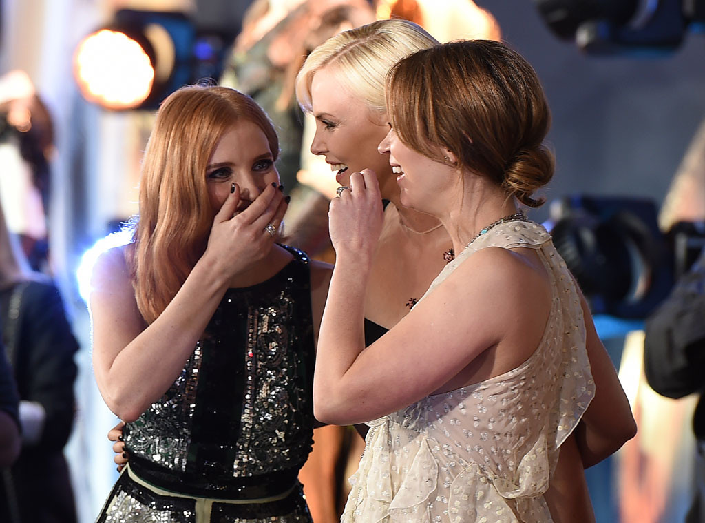 Jessica Chastain, Charlize Theron, Emily Blunt