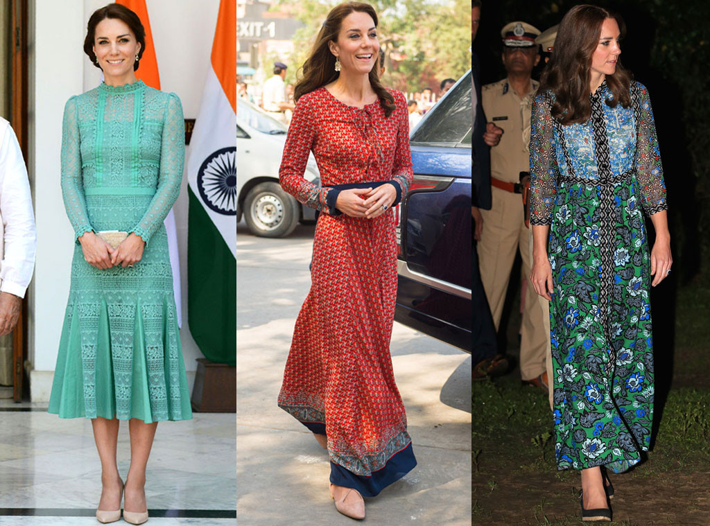 Kate Middleton, Catherine, Duchess of Cambridge, India