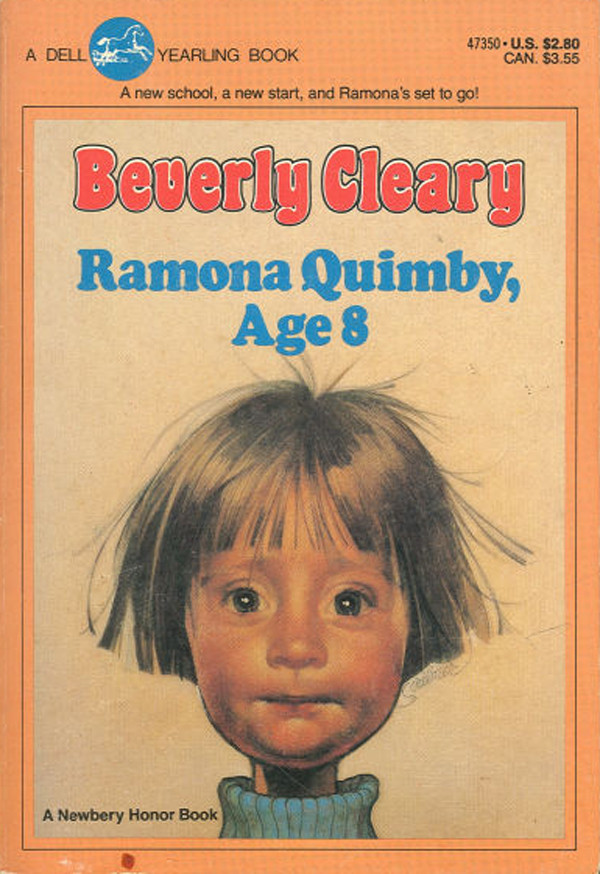 Ramona Quimby book cover