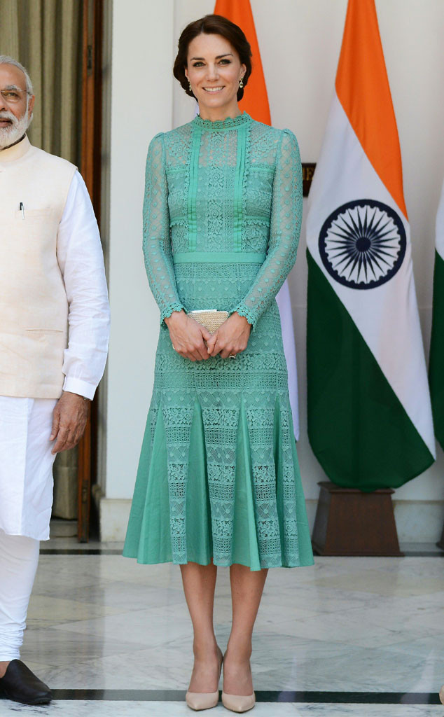 Prince William, Prime Minister Narendra Modi, Kate Middleton