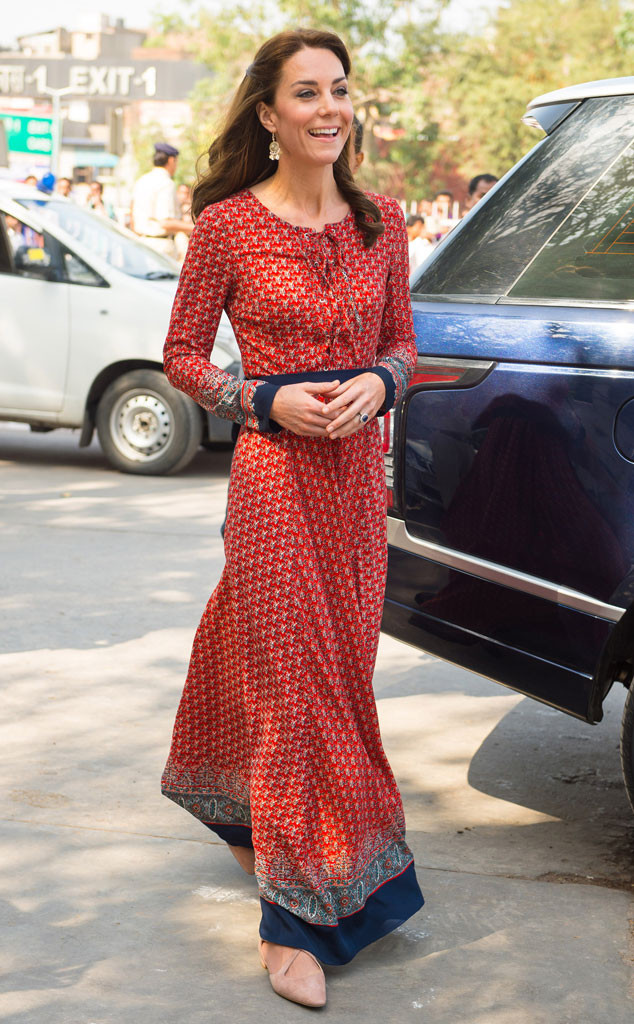 Kate Middleton, India