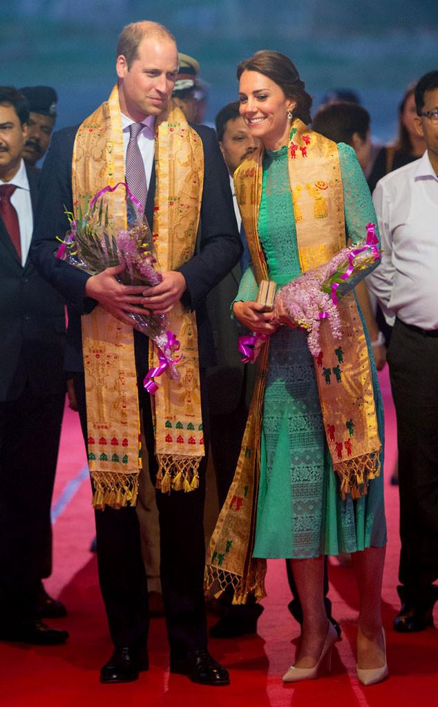 Prince William, Kate Middleton, Duchess of Cambridge, India