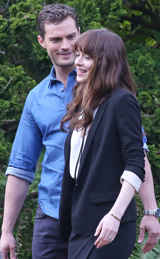 Dakota Johnson, Jamie Dornan, 50 Shades Darker