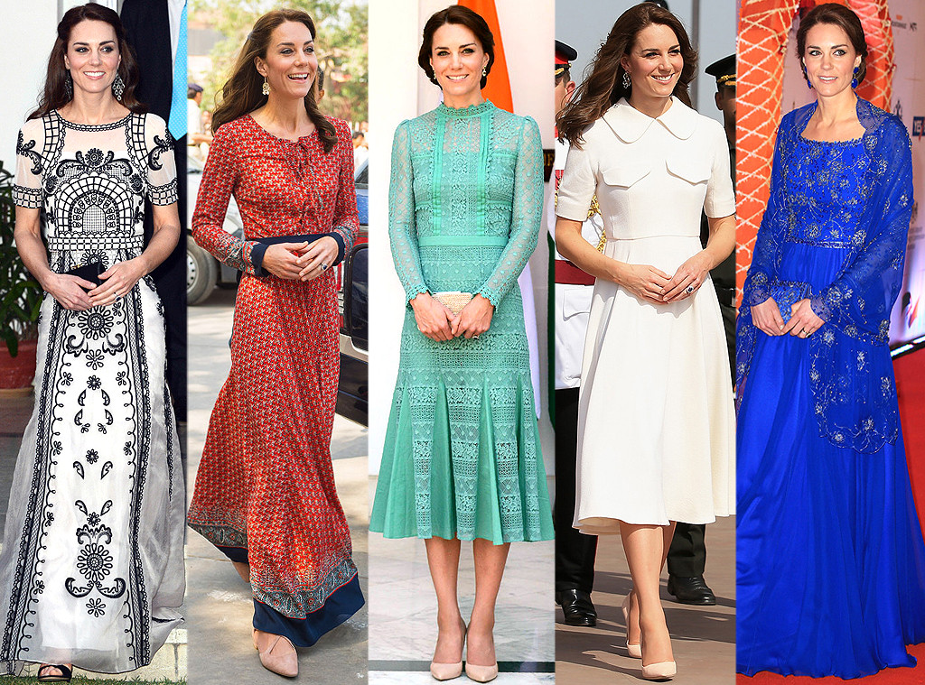 Inside Kate Middleton\'s Extravagant Royal Tour Wardrobe: $50,000, 40 ...