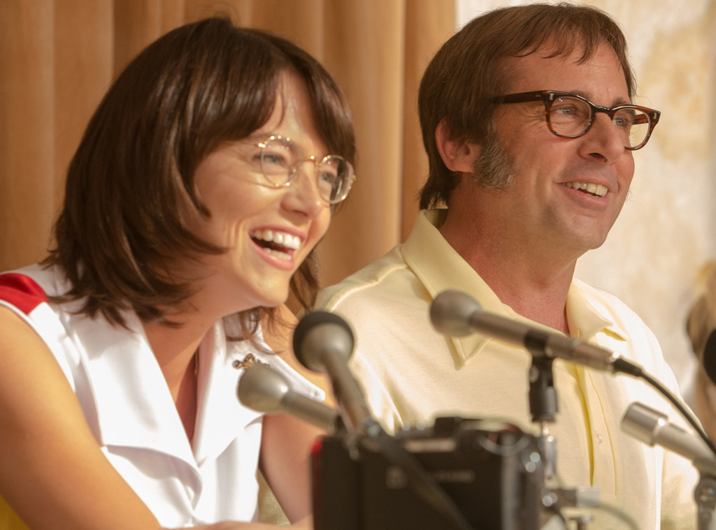 Emma Stone, Steve Carell, Battle of the Sexes