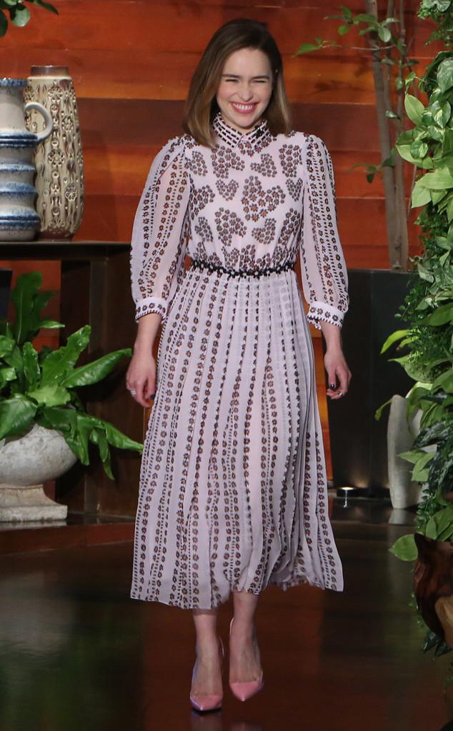 Emilia Clarke, The Ellen DeGeneres Show