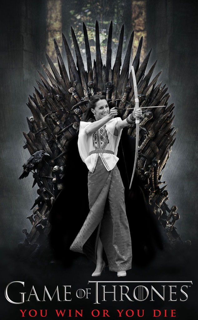 Kate Middleton, Duchess Catherine of Cambridge, Game of Thrones