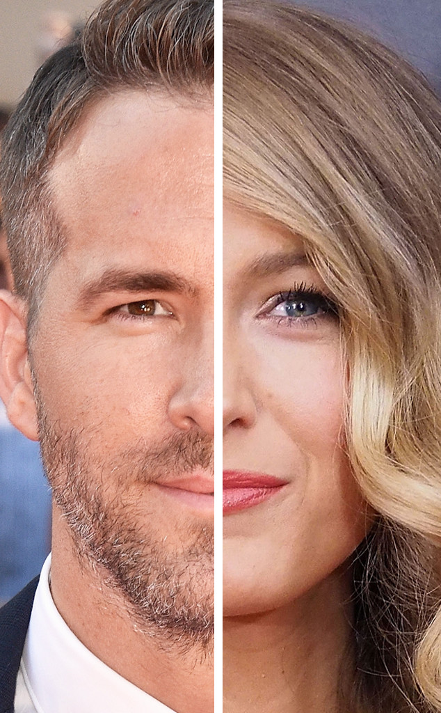 Ryan Reynolds, Blake Lively, Couples That Look Alike