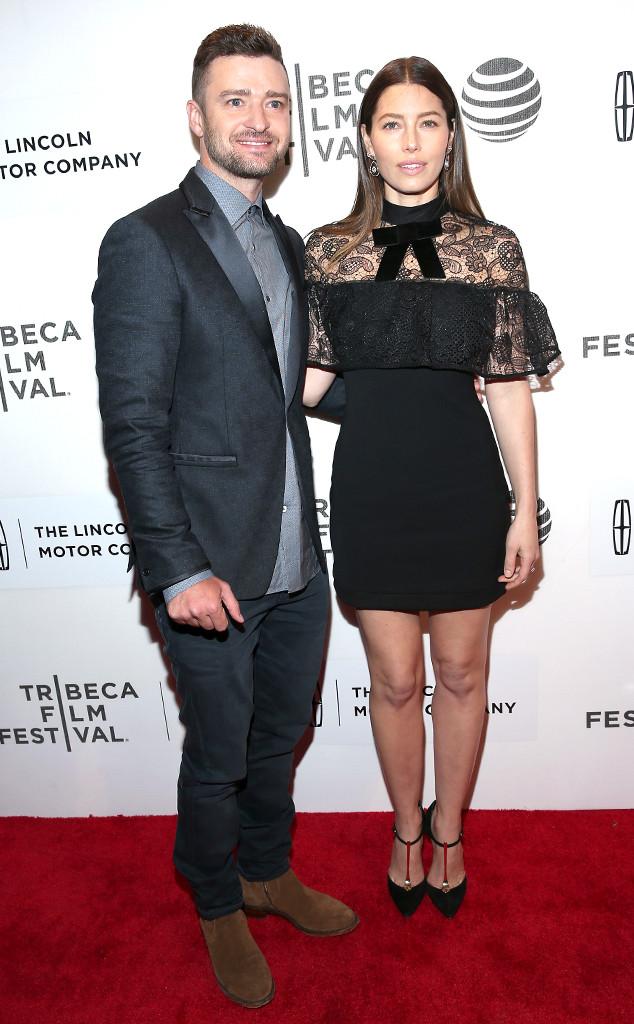 Justin Timerlake, Jessica Biel, Tribeca Film Festival