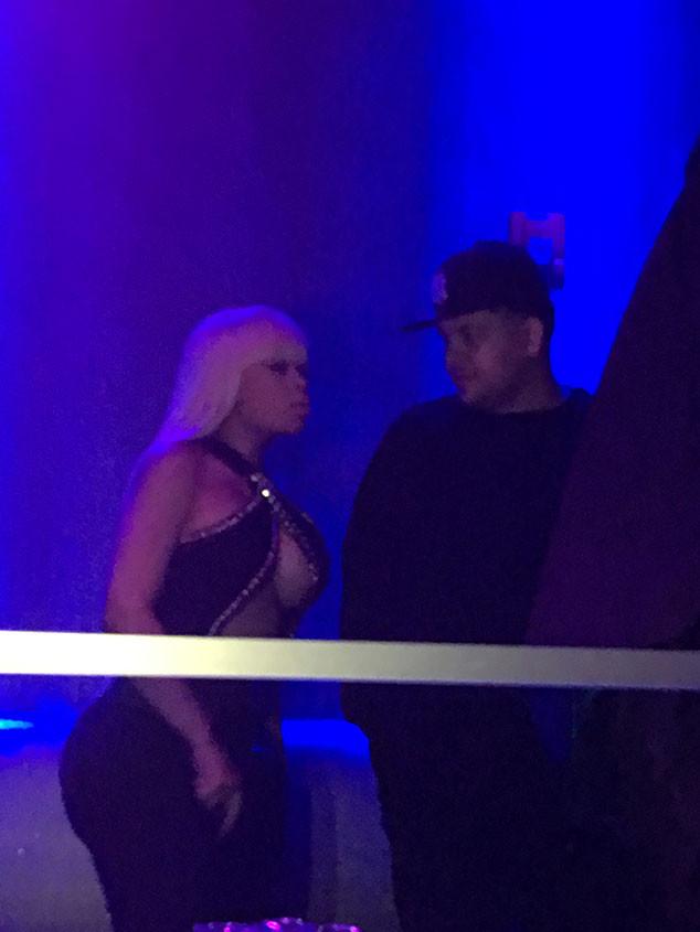 Rob Kardashian, Blac Chyna, NYC, ACES Strip Club