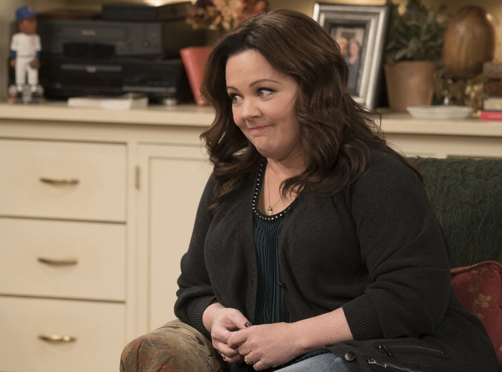 Mike & Molly  -  The CBS comedy had its 2013 finale pushed because it featured a plot about a tornado. It was postponed after a deadly tornado in Oklahoma.