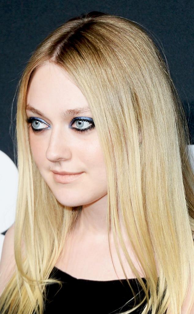 Dakota Fanning from '90s Grunge Makeup Trends to Try   E! News