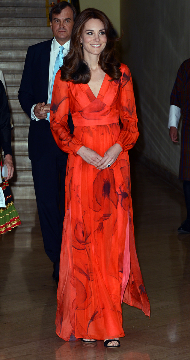 Kate Middleton\'s Entire India and Bhutan Wardrobe Deconstructed | E ...