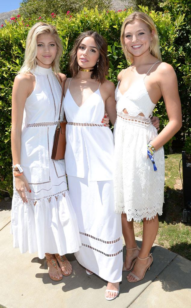 Coachella, Devon Windsor, Olivia Culpo, Rachel Hilbert