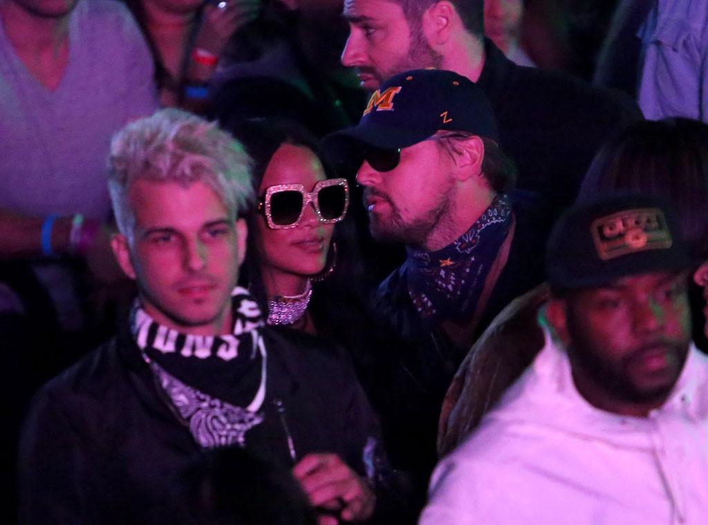 Coachella, Rihanna, Leonardo DiCaprio