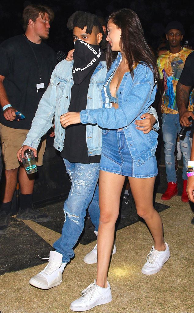Coachella, Bella Hadid, The Weeknd