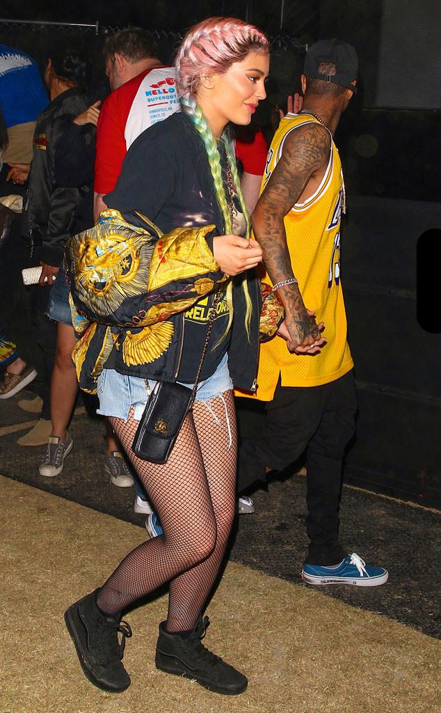 Coachella, Kylie Jenner, Tyga