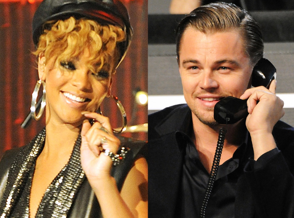 Leo and rihanna and other hollywood hookups