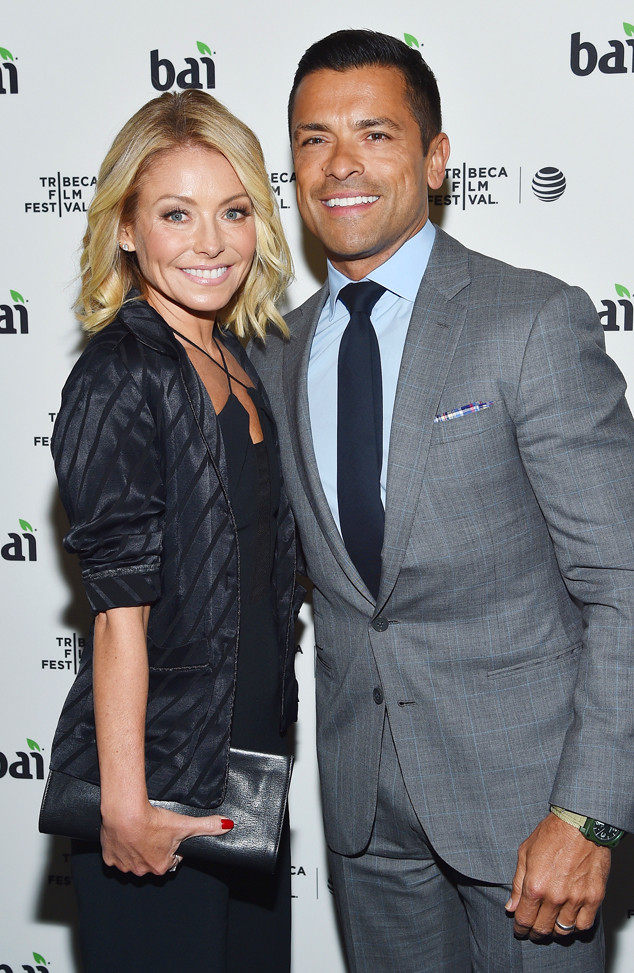 Kelly Ripa, Mark Consuelos, Tribeca Film Festival