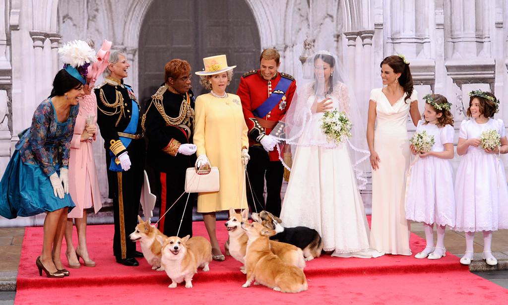 Today Show Cast, Queen Elizabeth II