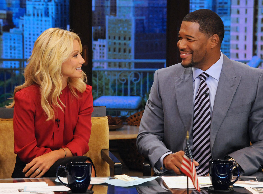 Kelly Ripa, Michael Strahan, LIVE with Kelly and Michael
