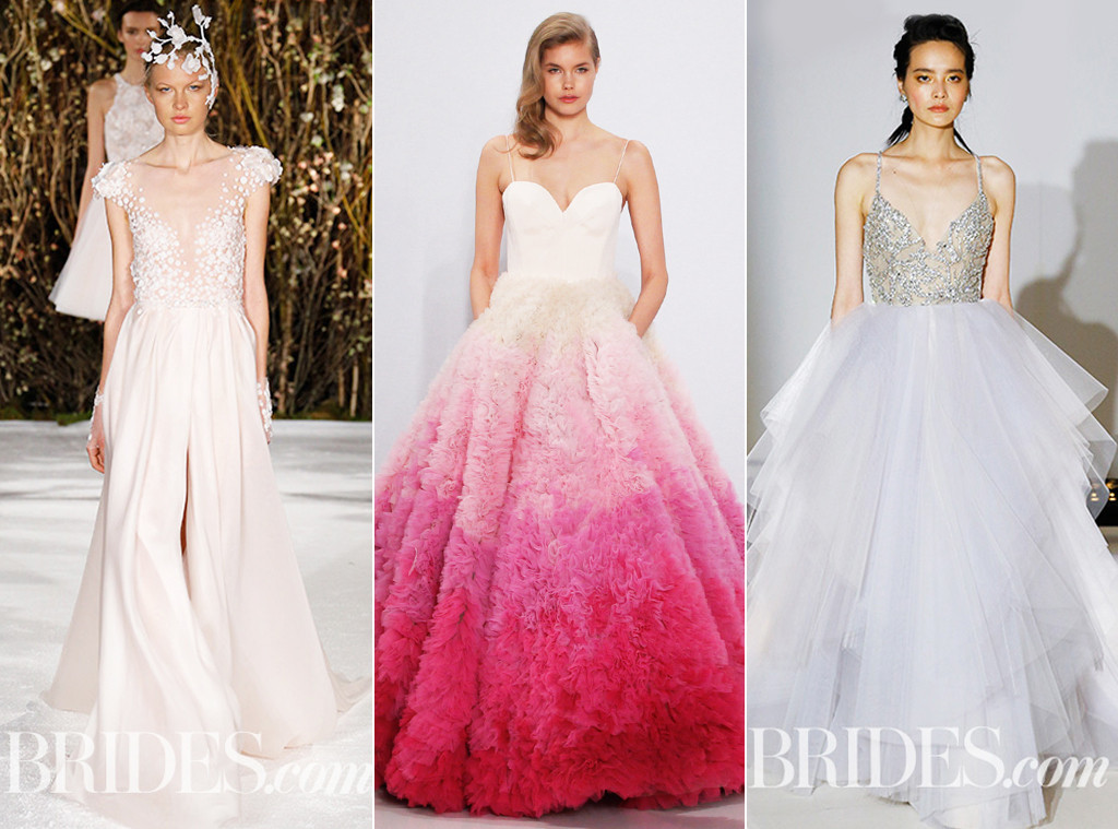 Bridal Fashion Week SS17, Trends, Pastels
