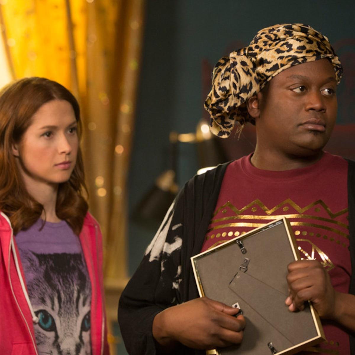 Amy Sedaris Kimmy Schmidt they said what?! delightful kimmy schmidt word association