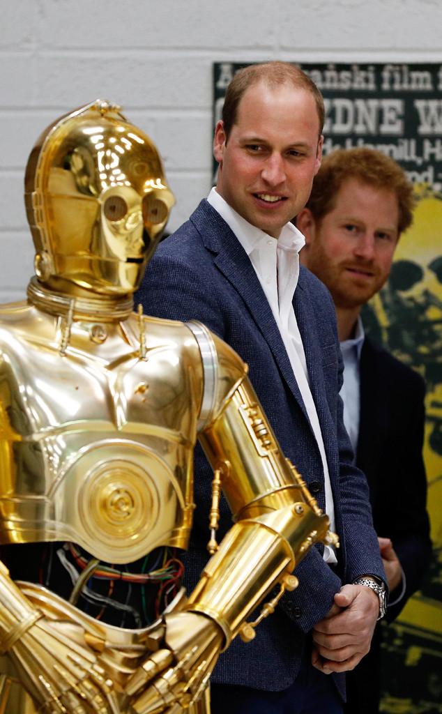 Prince Harry, Prince William, Star Wars