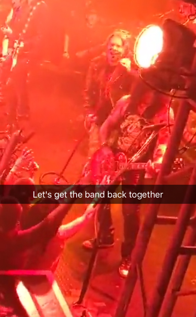 Kate Hudson, Guns N Roses Reunion Concert
