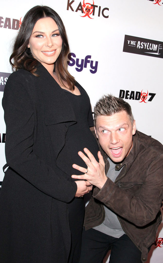 nick carter is a dad backstreet boys singer and wife
