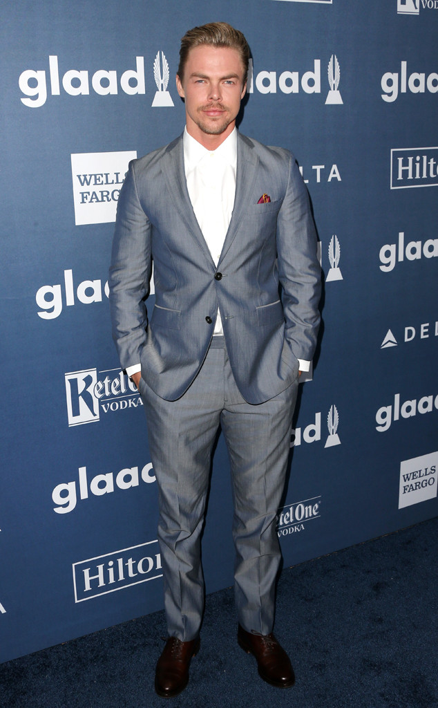 Derek Hough, 27th Annual GLAAD Media Awards