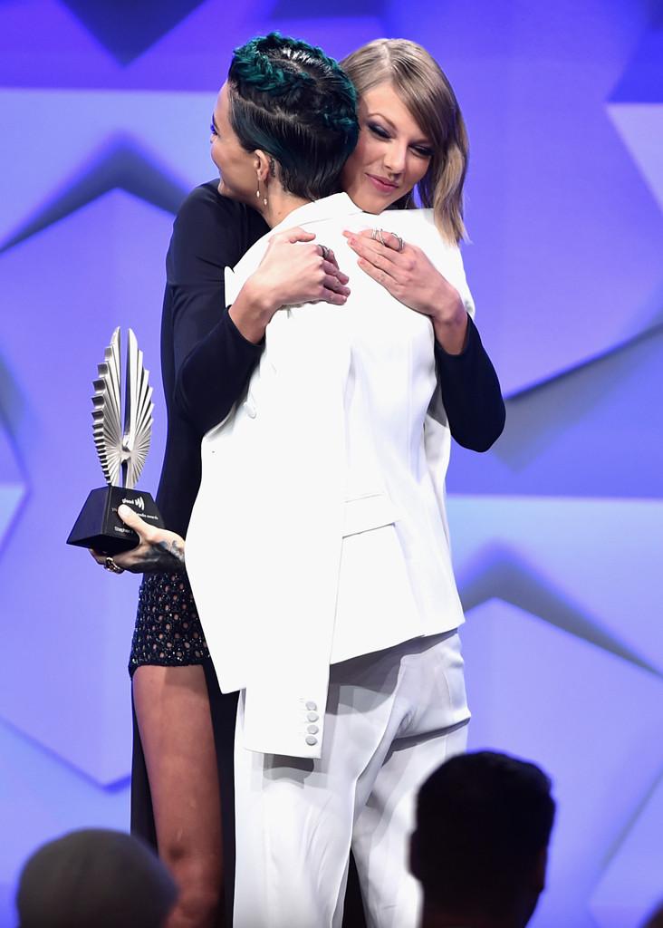 Taylor Swift, Ruby Rose, GLAAD Media Awards