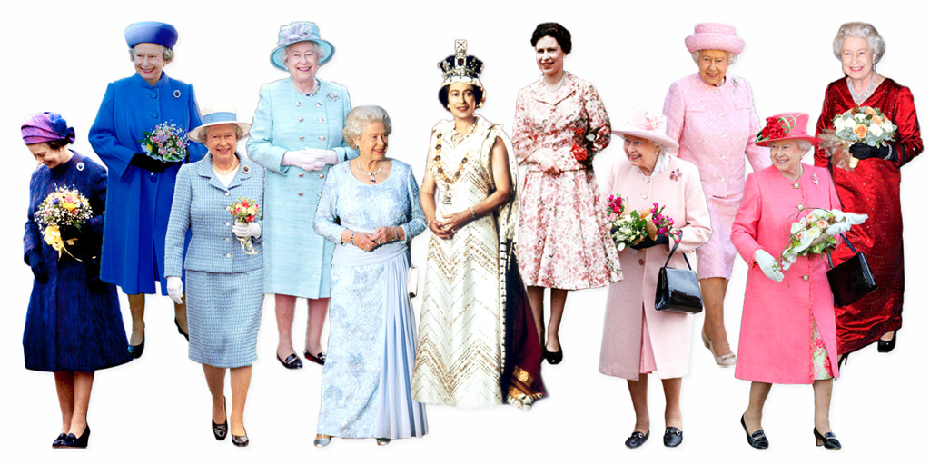 Fashion Ratu Elizabeth II