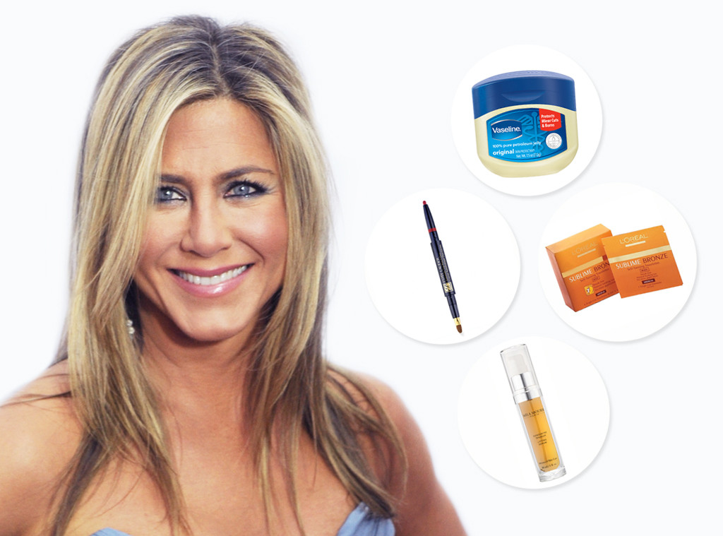 Jennifer Aniston Swears By These Beauty Productstherefore So