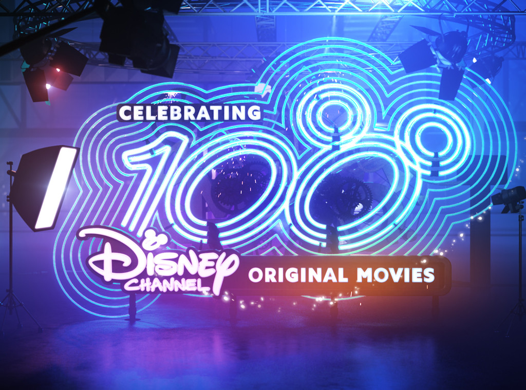 100th Disney Channel Original Movie Logo