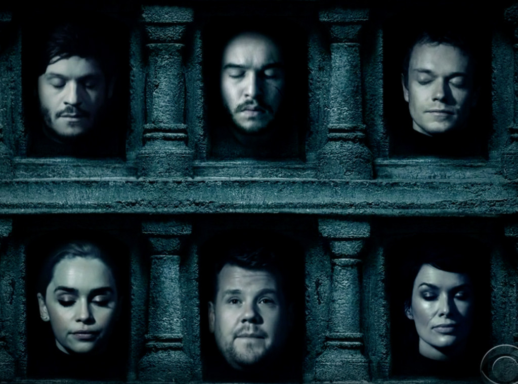 James Corden, Game of Thrones, The Late Late Show