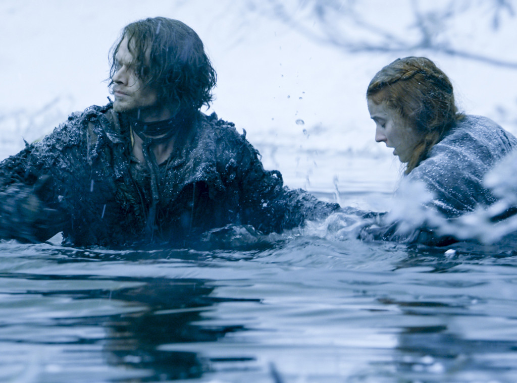 Alfie Allen, Sophie Turner, Game of Thrones