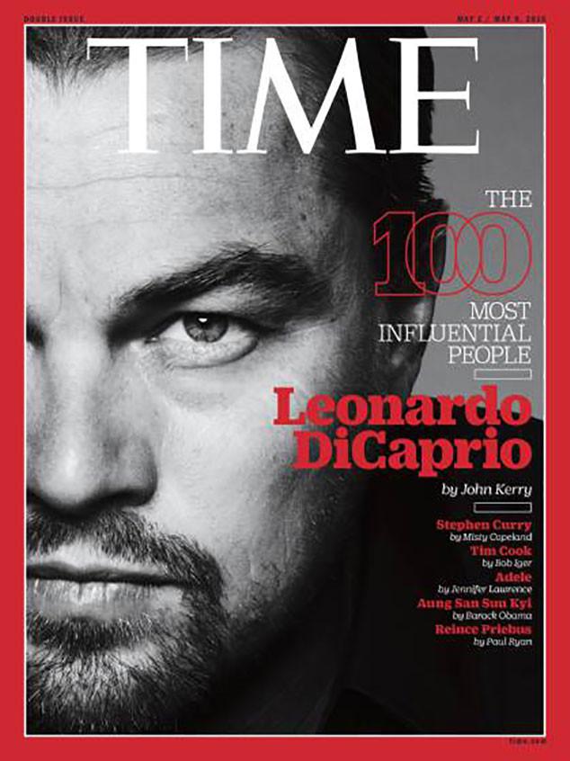 Leonardo DiCaprio, TIME