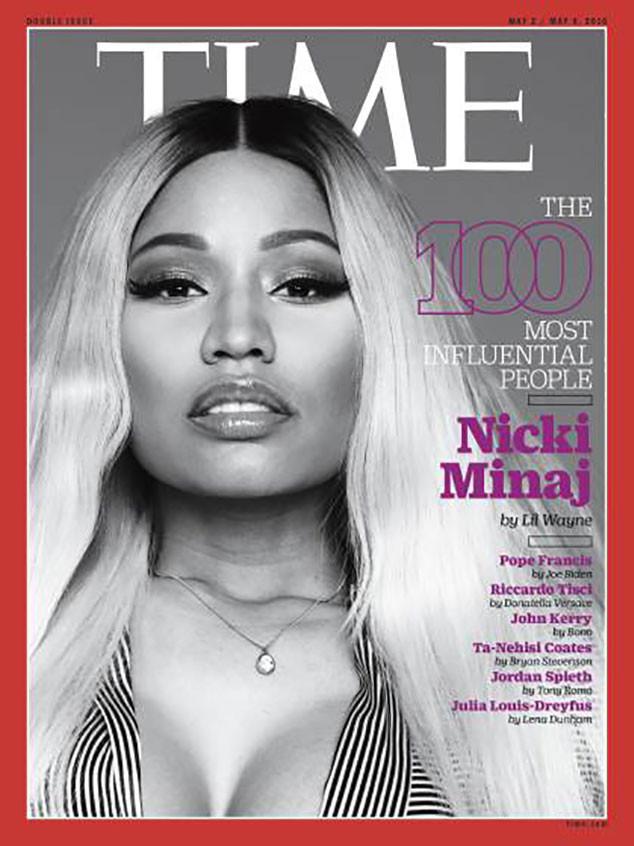 Lin-Manuel Miranda, Nicki Minaj, TIME